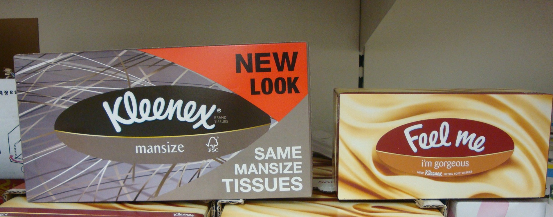 Kleenex Man Size Tissues Will