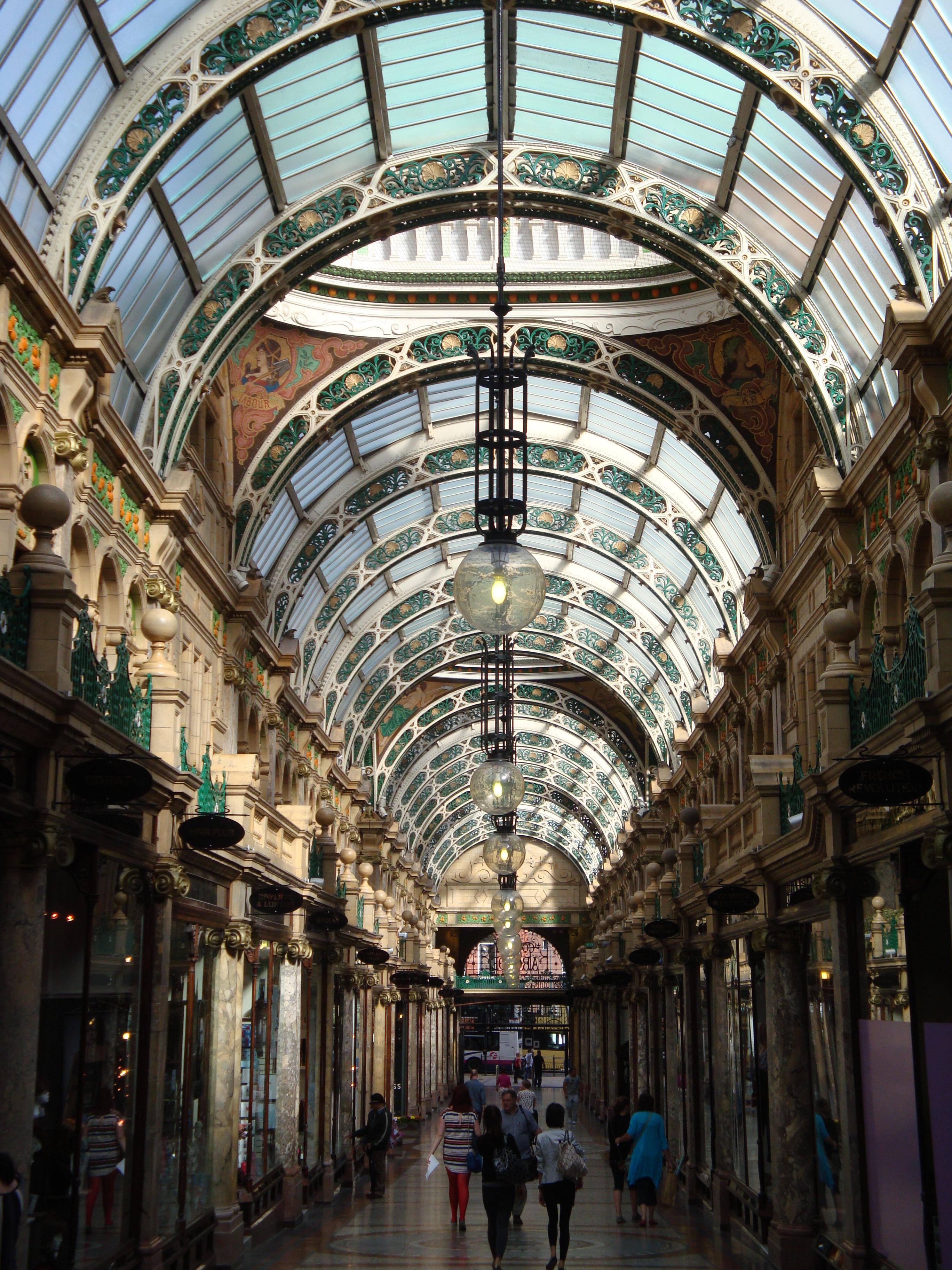 Victorian Arcades Change Here