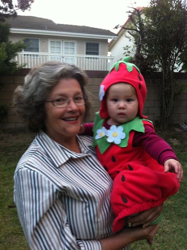 Cora's first Halloween