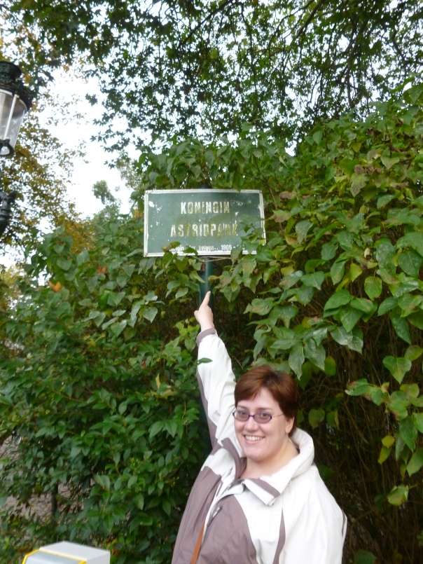 There is a tiny park in Bruges named after Queen Astrid