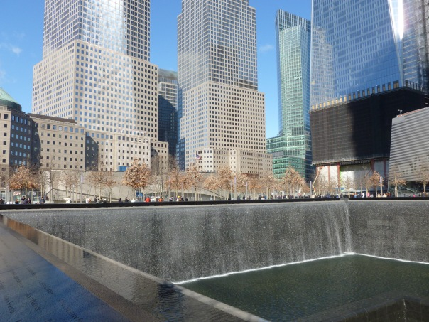 I took the opportunity in January to visit the new 9/11 Memorial at the World Trade Center site in Lower Manhattan - it was interesting if cold and icy, and I will want to see it again after the site is complete.
