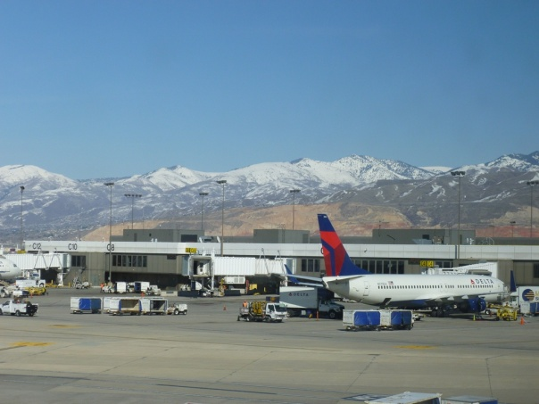 First business stop: Salt Lake City.  The mountain views were great, and reminded me of Denver - as did the high and dry atmosphere!