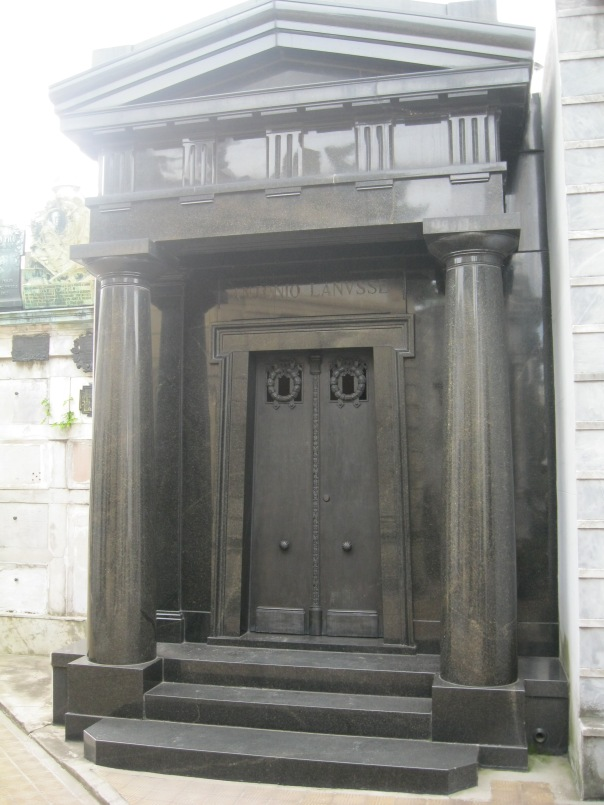 One of the more classic looking tombs.