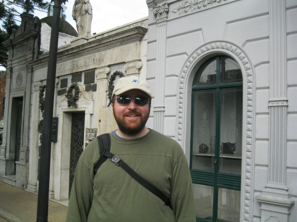 I think Alex was getting annoyed with me for taking so many pictures. I could probably have an entire post about the doors of the Recoleta Cemetery!