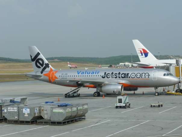 Another new airline - JetStar Asia is based in Singapore and is the Asian branch of the Qantas low-cost subsidiary JetStar in Australia.