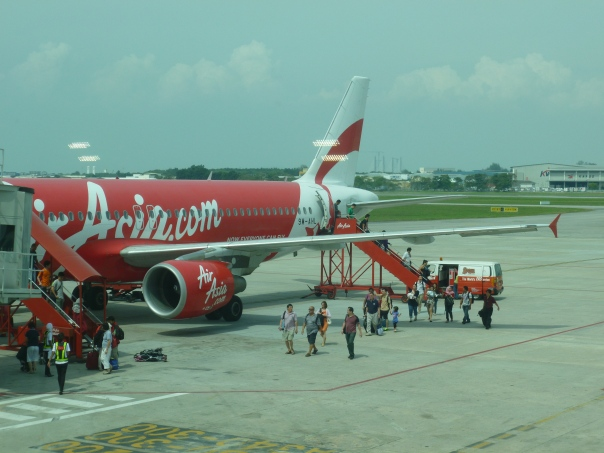 Another new airline!  The other major low-cost carrier in the region, AirAsia.  Based in KL, AirAsia is claimed to be the world's best low-cost airline.