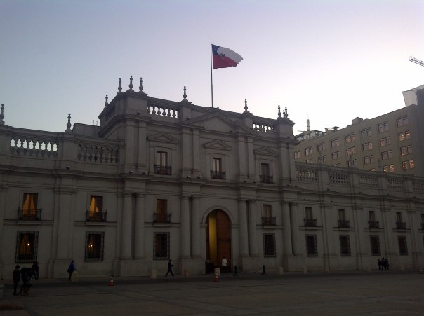 The highlight of my second trip of the year to Santiago in October was a visit to La Moneda Palace, where my group had a private meeting with the President of Chile!