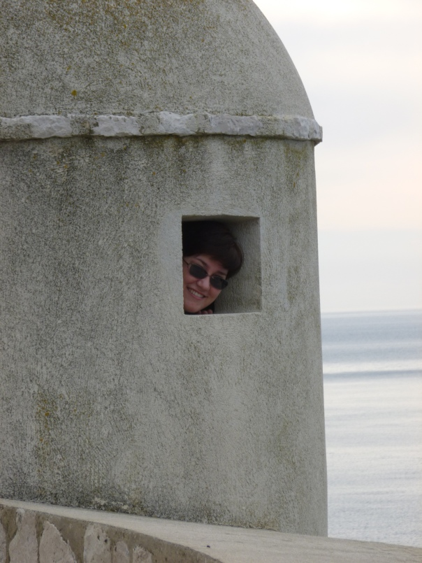 I would not make a very good guard in the little guard tower....