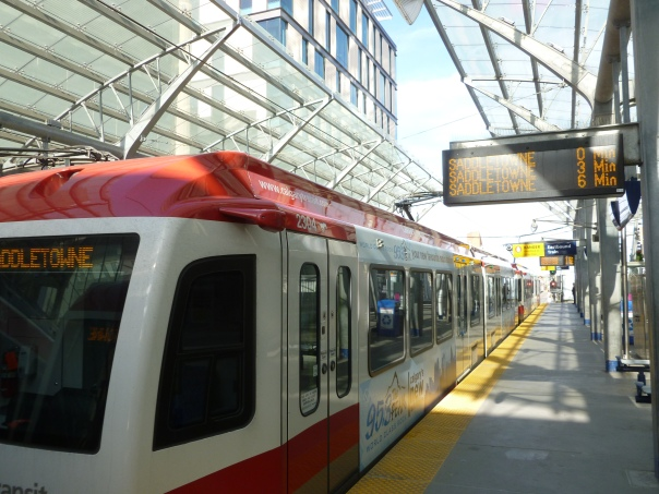 The Calgary C-Train is one of the best light rail systems in North America, with more riders than all othe busiest modern light rail system in North America,