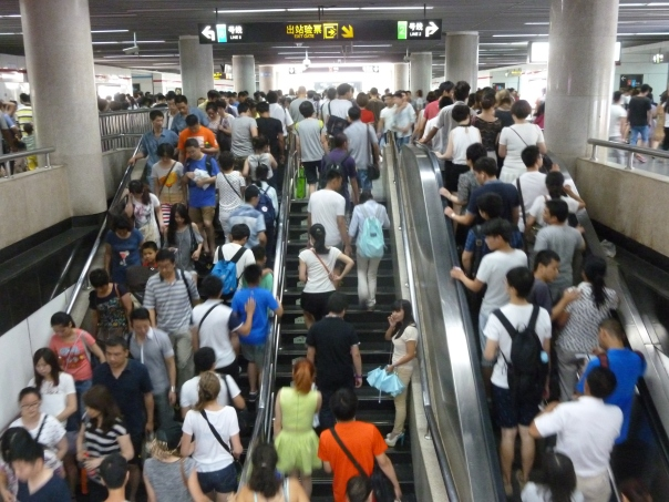 Since late 2013 Shanghai Metro is now the largest dedicated metro network in the world, covering more than 340 miles (compared to New York's 232 or London Underground's 250).