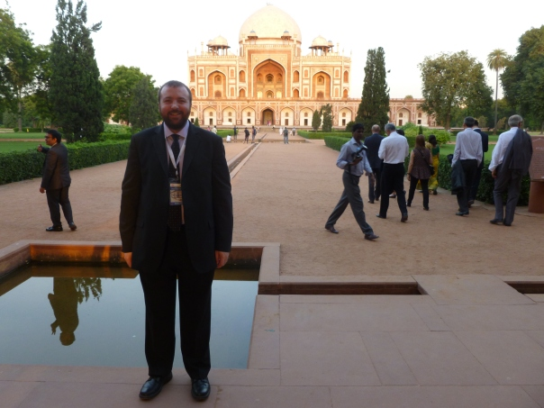September also brought my first ever trip to India. It was overwhelming and deserving of a separate post - a week of hard work but also Delhi belly, extreme poverty, amazing transformation as they build one of the world's biggest modern metro systems, etc. Here is a shot of me at a formal visit to Humayun's Tomb, one of Delhi's 3 UNESCO World Heritage Sites.