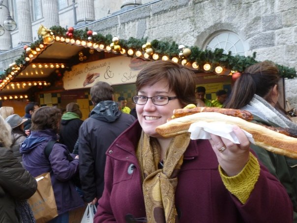 Bratwurst and Schnitzel