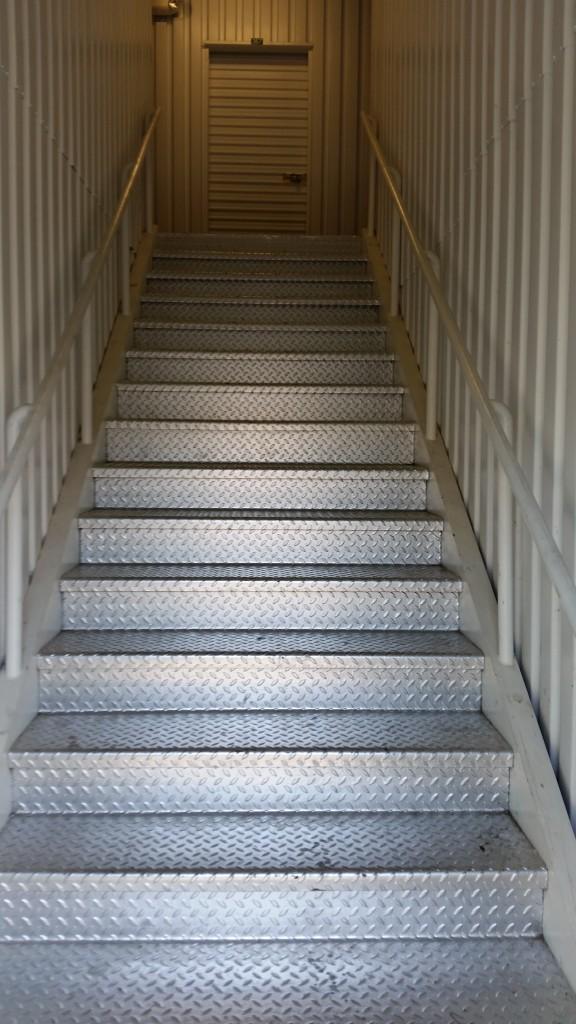 The stairs of doooooom!